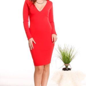 new direction maroon dark red dress
